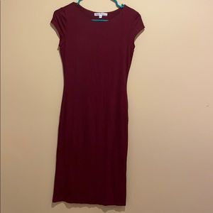 🌻Nordstrom Burgundy Dress